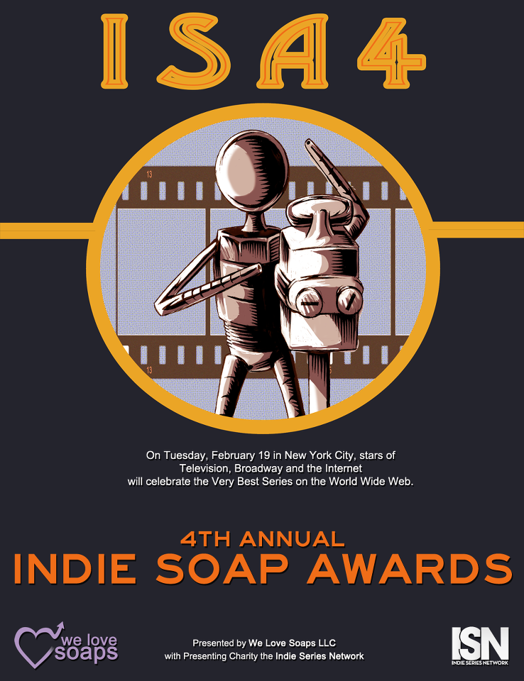 Winner at the 4th Annual Indie Soap Awards!
