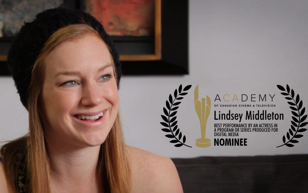 Lindsey Middleton Nominated for Canadian Screen Award