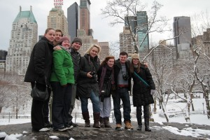 Kate Conway meets New York City