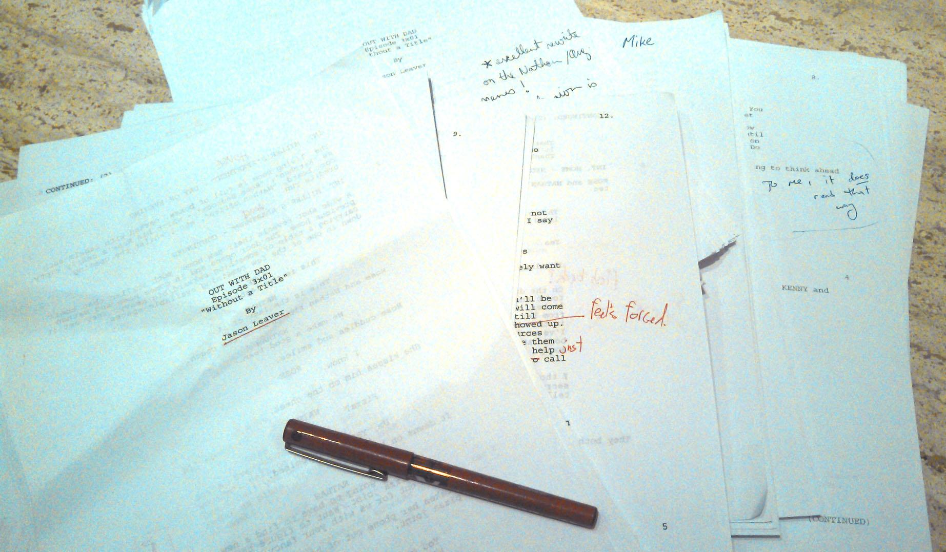 Season Three Writers' Table Read, part II